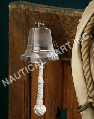 NAUTICAL BRONZE SHIP'S BELL 4