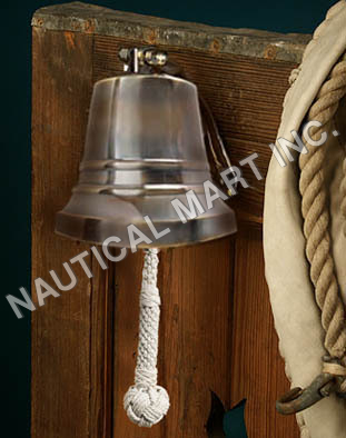 NAUTICAL BRONZE SHIP'S BELL 6