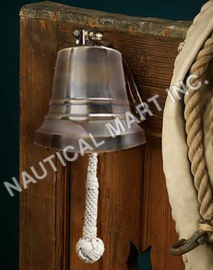 "NAUTICAL BRONZE SHIP'S BELL 6""..."