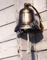 NAUTICAL BRONZE SHIP'S BELL 8