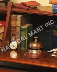 NAUTICAL RECEPTION BELL BRONZED...