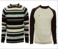Mens Striped Sweater
