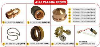 Trafimet A141 Plasma Torch Parts