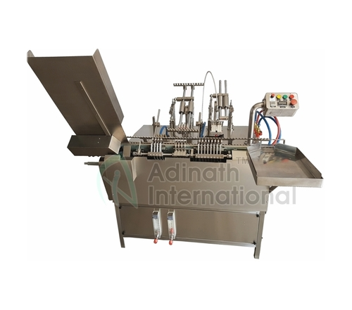 Four Head Ampoule Filling Machine