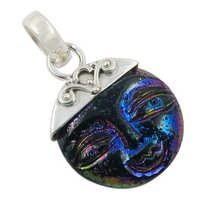 Shiva Shell Gemstone Pendant Jewellery
