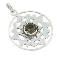 Smokey Quartz Gemstone Pendant Jewellery