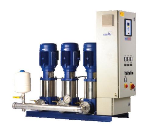 KSB Movi Boost-Water Pressure Boosting Pump System
