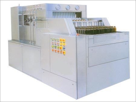 Automatic Linear Bottle Washer