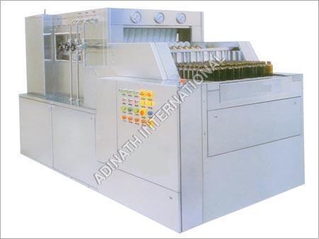 Tunnel Type Bottle Washing Machine