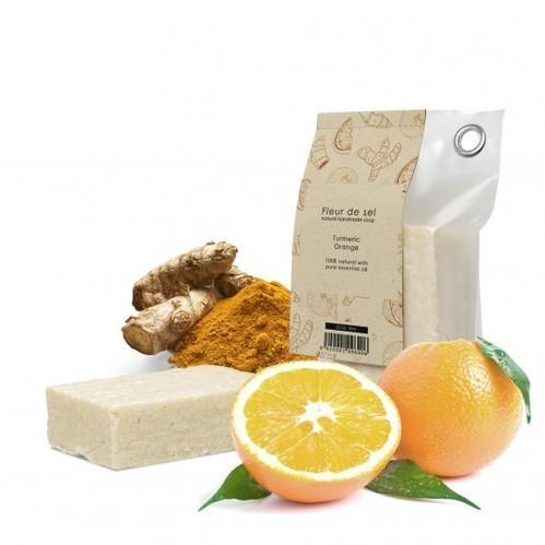 Lemon Turmeric  Soap