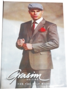 grasim suit length