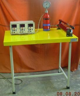 Strain Gauge Rosette Apparatus