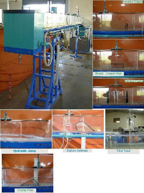 Multipurpose Tilting Flume - 6mtr