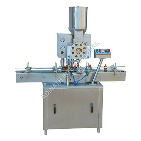 Single Wheel Powder Filling Machine