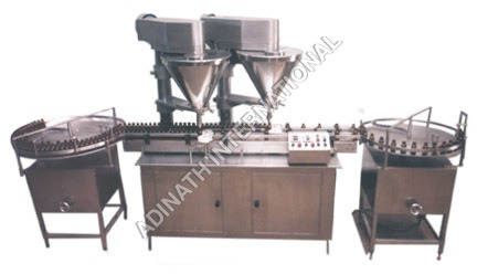 Bottle & Jar Powder Filling Machine
