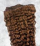 Curly Micro Loop Human Hair Weave