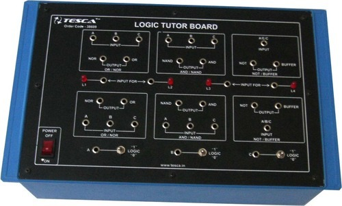 Logic Training Board on OR/NOR, AND/NAND, NOT/Buffer