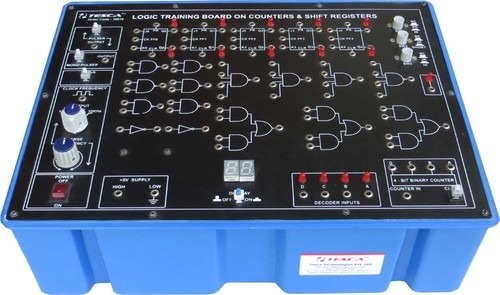 Logic Training Board on Counters  Shift Registers