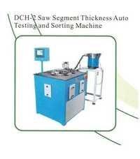 Saw Segment Thickness Auto Testing and Sorting Mac