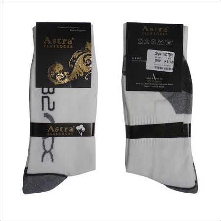 White Sport Socks
