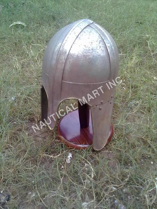 Medieval Brass Helmet