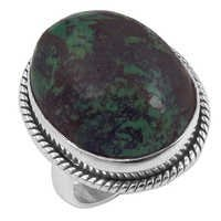 Natural Turquoise Gemstone Ring Jewellery