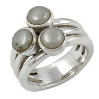 Pearl Gemstone Ring Jewellery