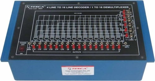 4 Line to 16 Line Decoder/ 1 to 16 Demultiplexer