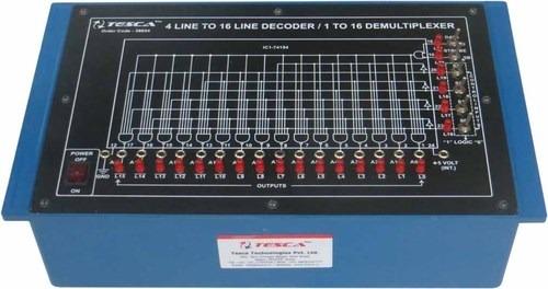 4 Line to 16 Line Decoder/ 1 to 16 Demultiplexer