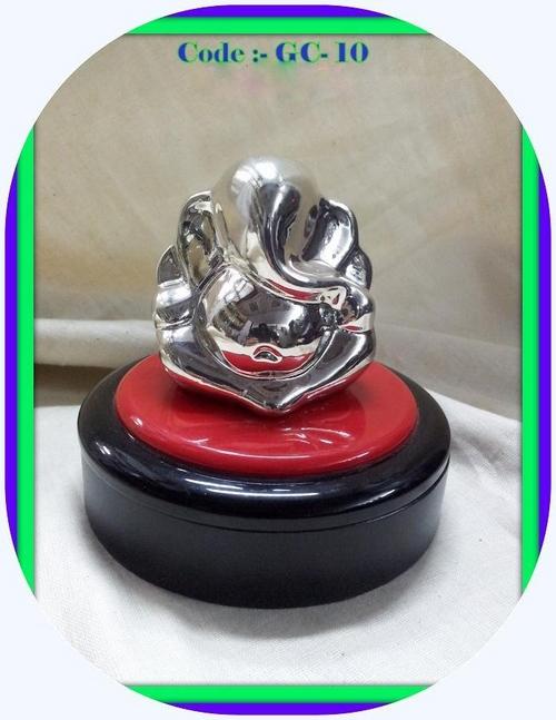 Silverplated Ganesha