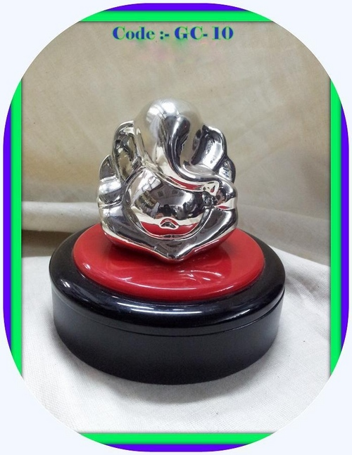 Silverplated Ganesha