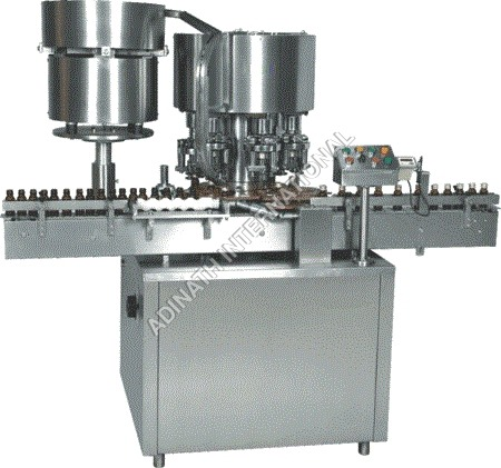 Twelve Head Vial Cap Sealing Machine