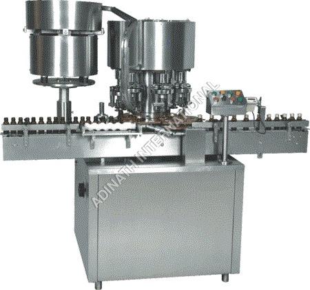Twelve Head Vial Cap Sealing Machine