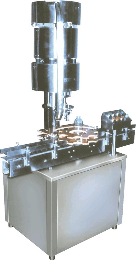 Single Head ROPP Screw Capping Machine