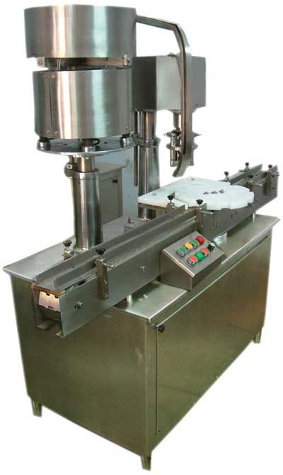 Four Head ROPP Screw Capping Machine