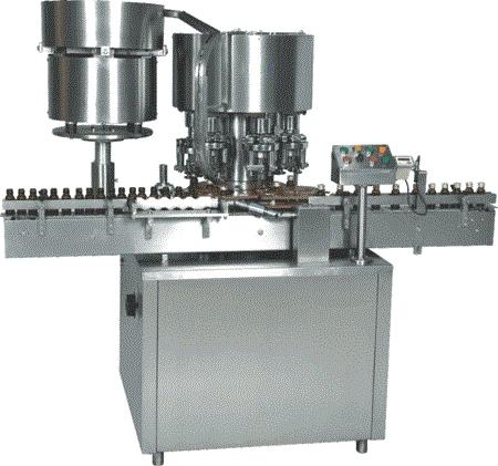 Six Head ROPP Screw Capping Machine