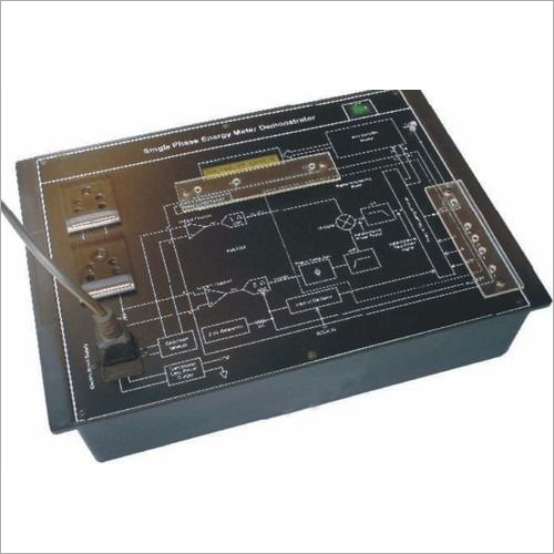 Single Phase Energy Meter Trainer
