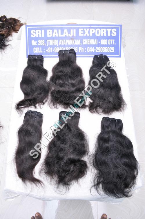 Real Human Wavy Hair