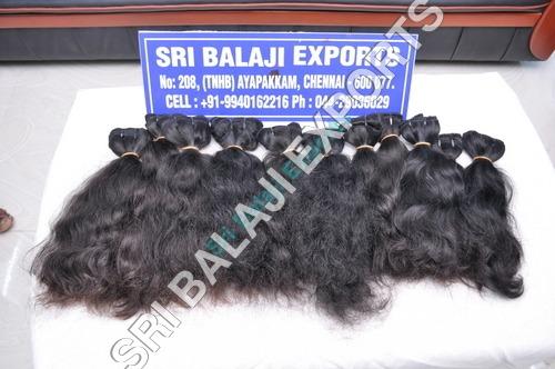 Machine weft- huma hair
