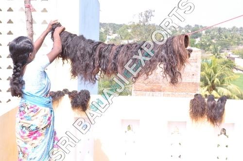 Human hair processing