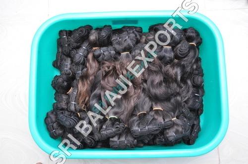 Machine weft- Natural human hair