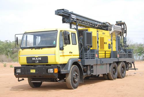DTH Cum Rotary Drilling Rig