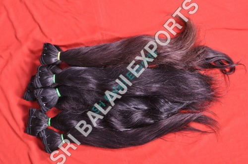wavy hair extension weft