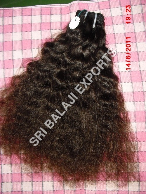 Curly Light Brown Natural Hair