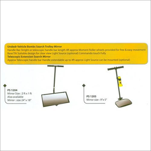 Under Vehicle Search Trolly Mirror