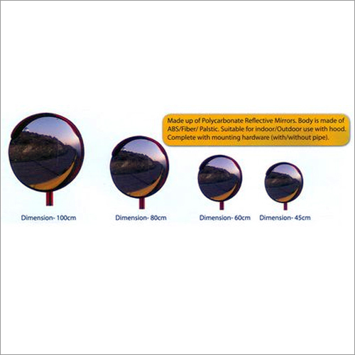 Road Safety Convex Mirrors
