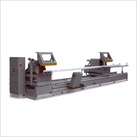 Curtain Wall CNC Double Head Cutting Saw Machine