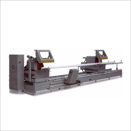 Curtain Wall CNC Double Head Cutting Saw Machine