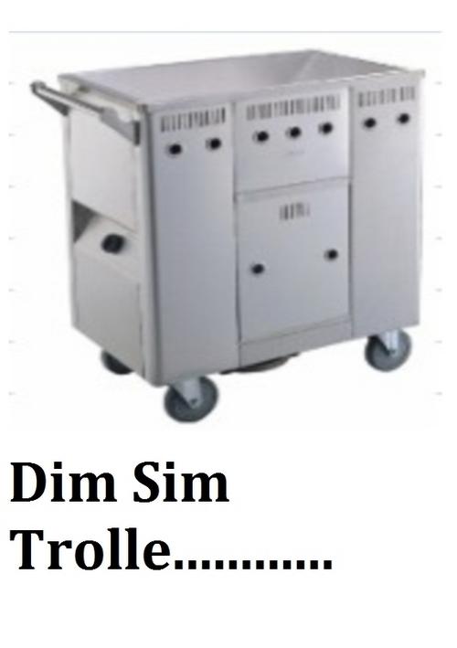 DIM SIM TROLLEY