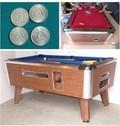 Coin Operated Tables
